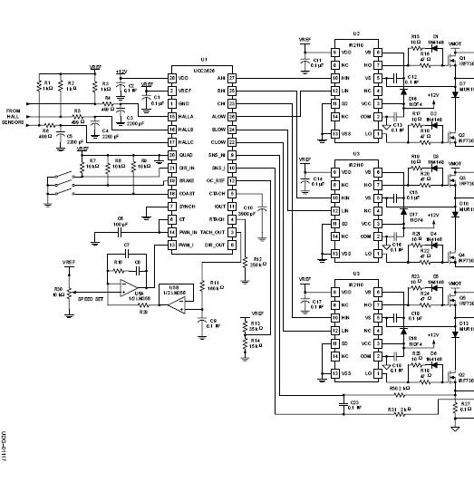 sterownik - regulator silnika bezszczotkowego bldc