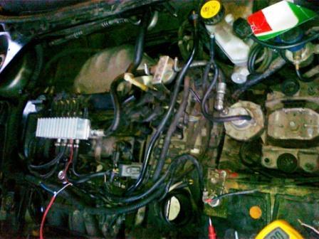 Ford Mondeo 1,8 /2003R. + sekwencja BRC i dziwne objawy