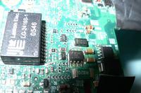 NX8220 Uszkodzona płyta główna