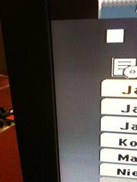 Sharp Aquos lc32gd8ea ciemniejszy ekran na górze i na dole