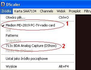 Karta Telewizyjna Philips - Sterowniki