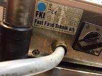 Frytkownica FKI - Model VSFK1615GD - termostat bezpieczeństwa