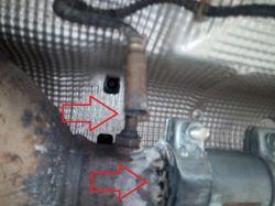 Audi A4 B6 - Wydech środek chyba do wymiany i na pewno sonda za katalizatorem