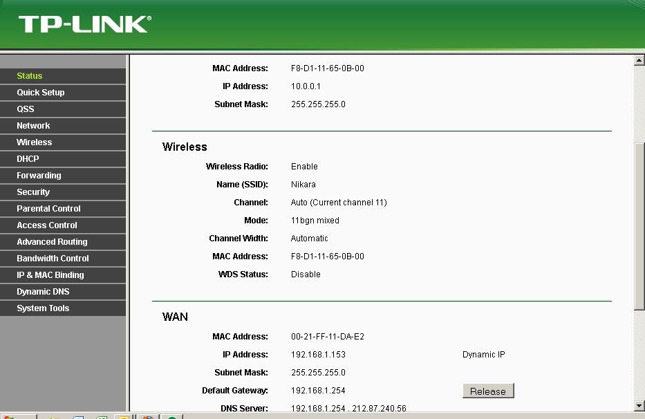 Konfiguracja rutera TL-WR740N z zewnetrznego IP