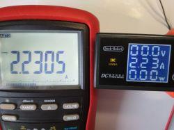 Deek-Robot, panelowy wskaźnik napięcia i prądu