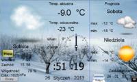 Wy�wietlanie pogody na panelu HMI Weintek
