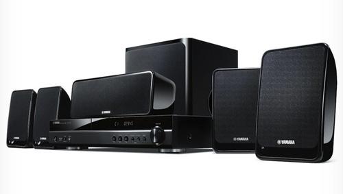 Yamaha przedstawia BDX-610: system kina domowego z odtwarzaczem Blu-ray