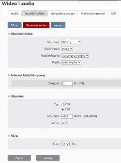 RTMP kamera IPOX ---> transmisja na youtube