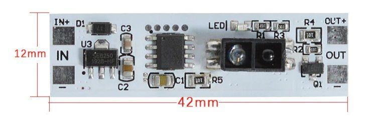 Włącznik Led z czujnikiem refleksyjnym IR