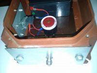 Alarm do piwnicy - wersja zasilana tylko z akumulatora