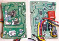 Metz 48 AF-1 Digital - Lampa Metz - ukręcone przewody, zwara na płytce