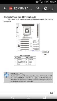 Panel USB Bluetooth MSI podłączenie do PC
