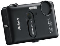 Nikon Coolpix S1200pj -kompaktowy aparat 14,1 Mpix ze zintegrowanym projektorem