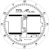 Zegar słoneczny elektronika