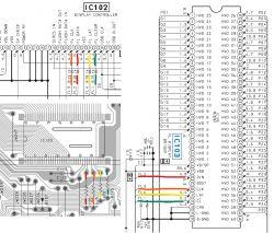 Sony STR-DB840QS -własne napisy na VFD