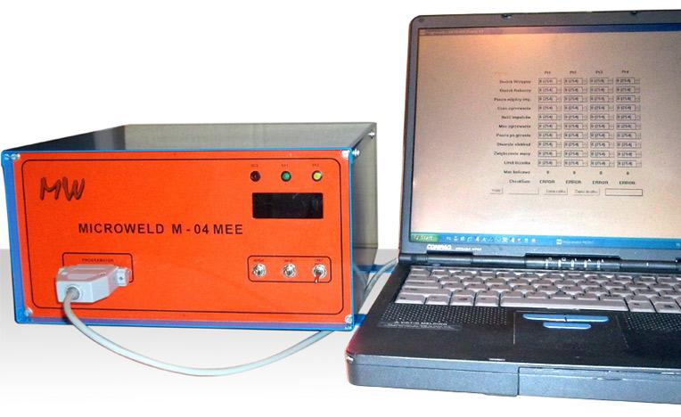 Microweld M-04 sterownik zgrzewarki