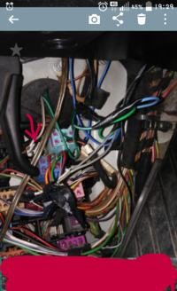 passat B5 brak podswietlenie drzwi kierowcy