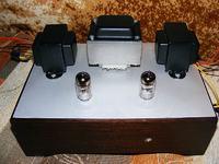 Wzmacniacz lampowy 6S45P-E SET