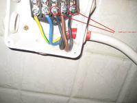 Podłączenie płyty ceramicznej AMICA PZ6400 - 4 kable