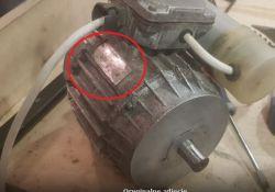 Silnik do betoniarki - rozłącza bezpiecznik po podłączeniu