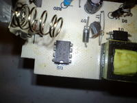 �adowarka Li-ion 18650 Intelligent Charger- spalony tranzystor