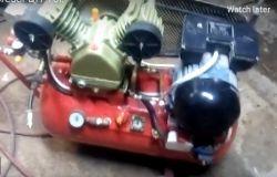 Kompresor DIY 70l sprężarka V2065
