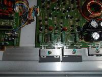 Wzmacniacz Toxic TX800 i spalony tranzystor oraz opornik