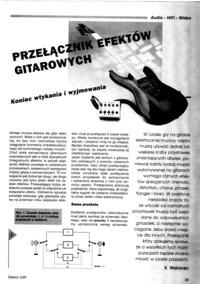 Trzy efekty do gitary w jednej obudowie