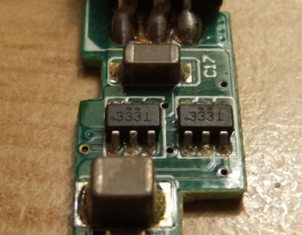 Identyfikacja tranzystor�w o symbolu .333