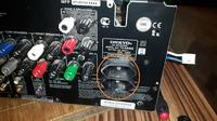 Prosta modyfikacja amplitunera ONKYO TX-SR605 - załączenie subwoofera