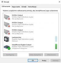 Logitech Z906 - podłaczenie do laptopa MSI GT72