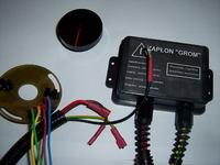 Jawa 350 TS - Wymiary przesłony - wyzwalacza w elektronicznym zapłonie.