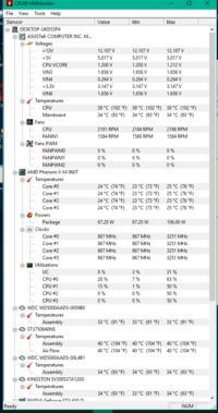 Komputer się zawiesza podczas gdy jest wysoka temperatura (55 stopni Celsjusza)