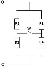 Zadanie z pod. mech. Rezystancja zastępcza układu po zamknięciu wyłącznika
