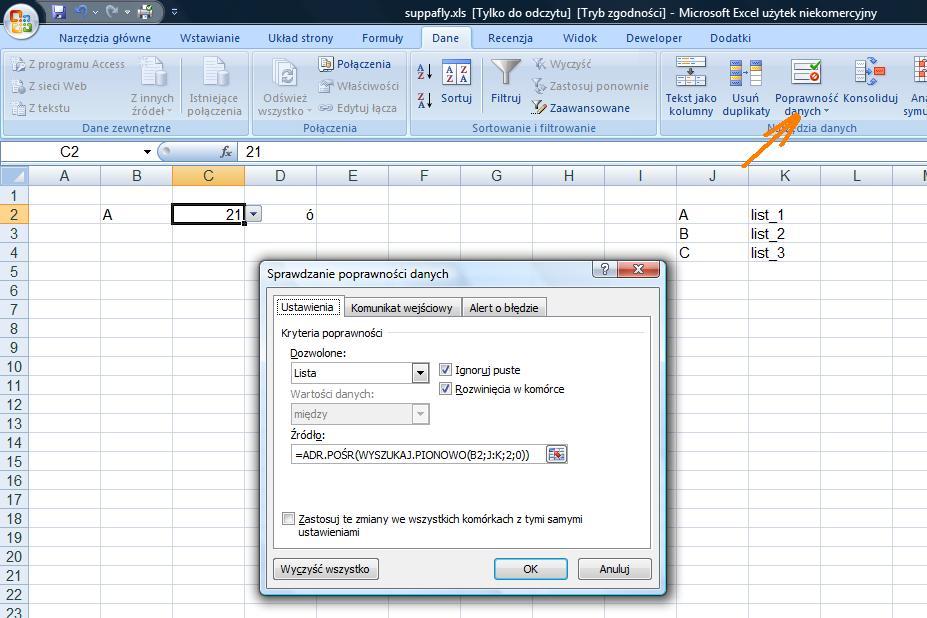 Excel-problem z formu�ami!