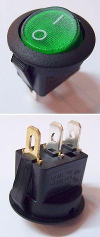Włącznik podświetlany - jak to podłączyć?