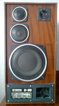 Kolumna s-90 - Głuchy dżwięk