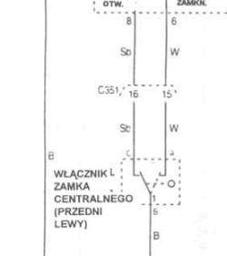 Mercedes A klasa 2001 - Centralny zamek nie działa z kluczyka