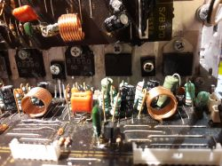 Denon AVR-2106 miga czerwona dioda
