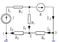 Obliczenie napięcia jałowego i prądu zwarcia oraz rezystancji wewnętrznej
