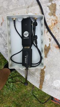 Projekt anteny do LTE na częstotliwość 1800 MHz wraz z instalacją