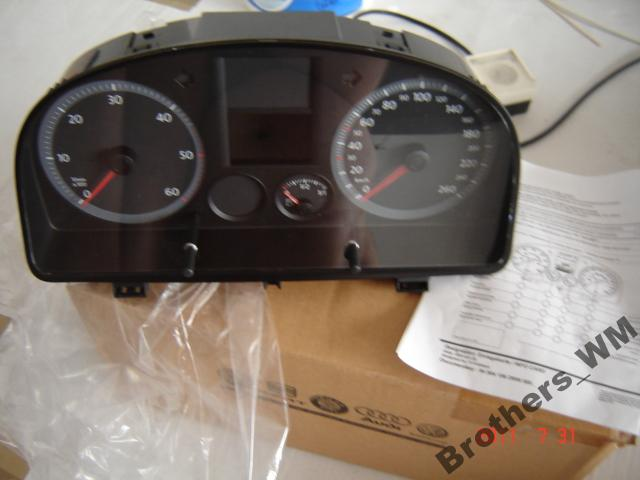 VW Caddy TDI 2005 - Jaki pomys� na monta� wska�nika temperatury silnika