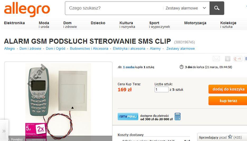 Czy ten alarm GSM jest wart swej ceny ?