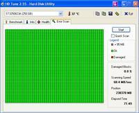 Niepokoj�ce zachowanie dysku Seagate ST3250823A / 250GB