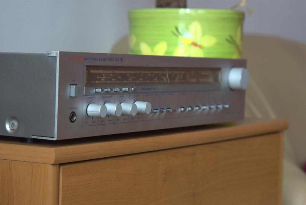 Renowacja i tuning amplitunera Tosca AWS-303