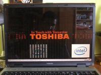 Toshiba Satellite P100 221 - Dziwne �lady na matrycy, brak reakcji