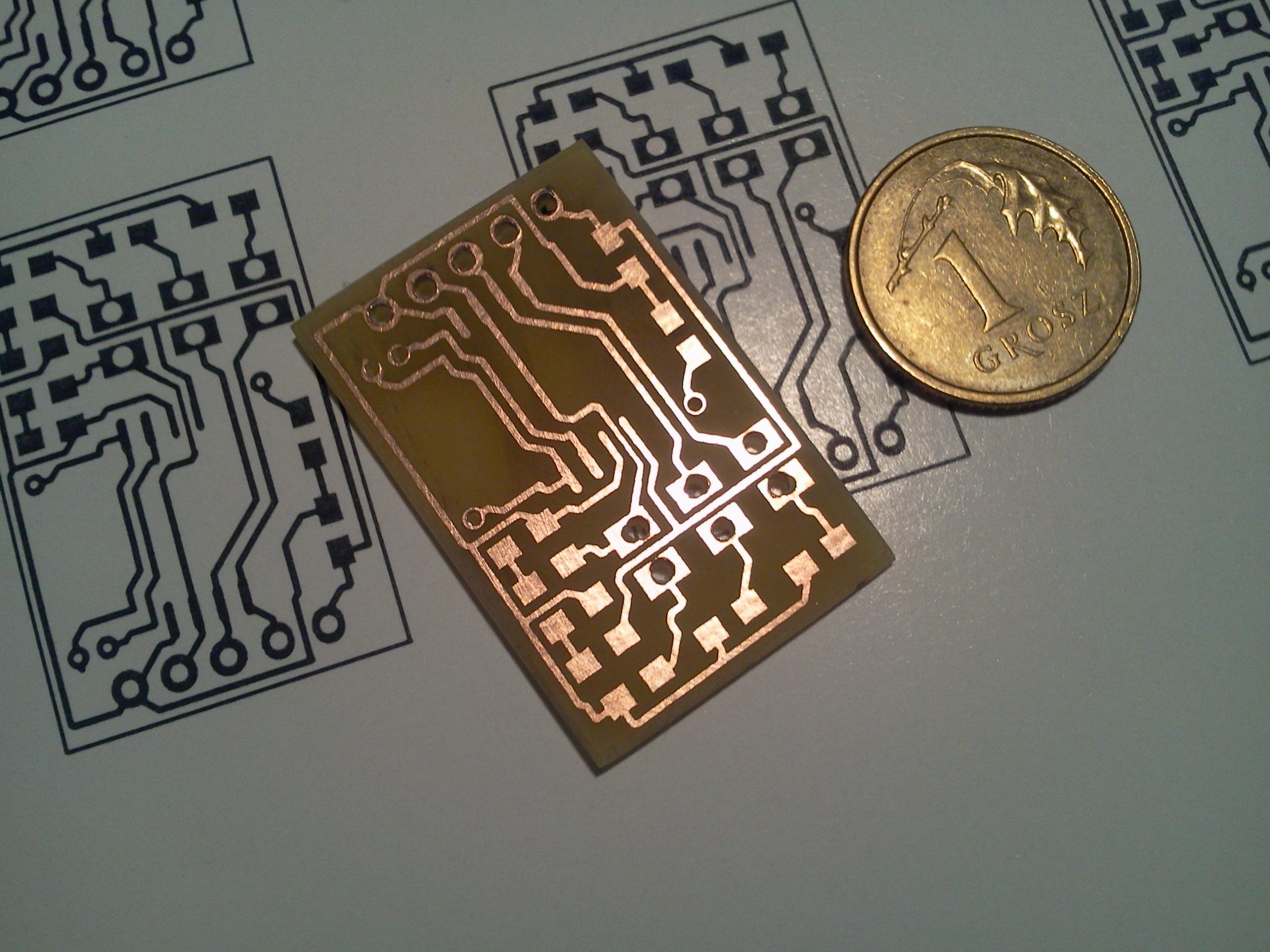 Wytrawiarka mikroprocesorowa do PCB v.2