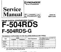 Tuner Pioneer F 504 - Problem - Tuner bardzo sie grzeje