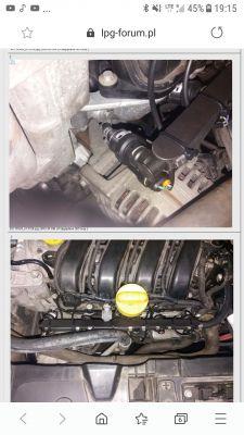 Renault Megane 2 1.6 16V LPG 2004 - Silnik gaśnie po hamowaniu silnikiem