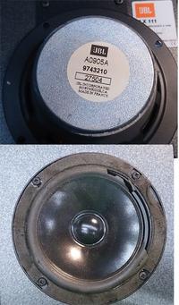 JBL TLX 111 naprawa głośników